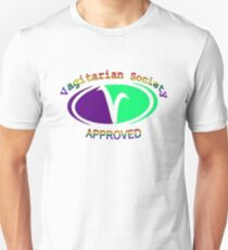 Vagitarian Society: Approved Unisex T-Shirt
