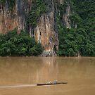 Ou River, Luang Prabang Province, Laos by John Spies