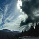 Winter Sky, Mount Washington by Jann Ashworth