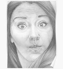 Mmm ... a funny face ... Something like this? Poster