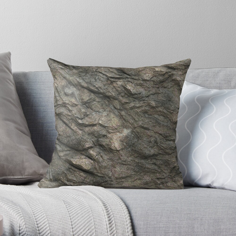 Decorations with stone Throw Pillow