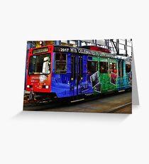 Metro Celebration Greeting Card