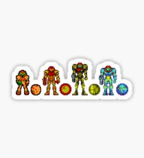 Samus, the cartridge years Sticker