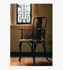 chair.. Photographic Print