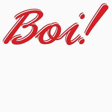 Boi! Red by Bragadesigns