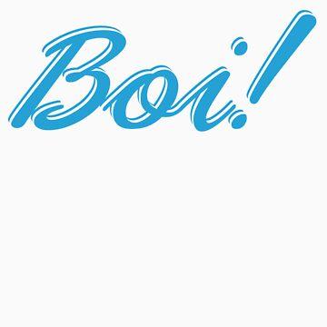 Boi! Blue by Bragadesigns