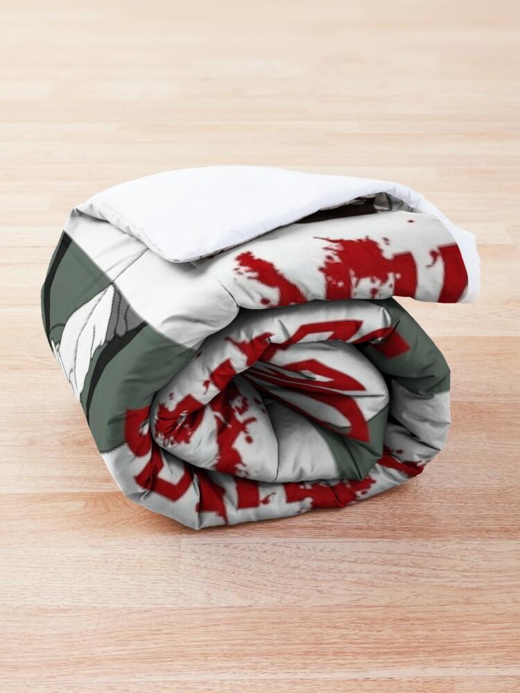 Alternate view of Dexter Morgan Shhhh Comforter