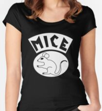 Mice Motorcycle Gang Women's Fitted Scoop T-Shirt