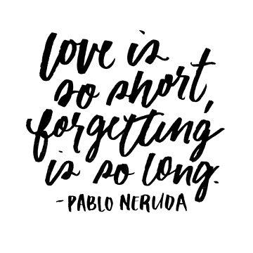 Love is So Short  by artofescapism