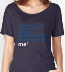 Me to the Power of 1 | Blue Women's Relaxed Fit T-Shirt