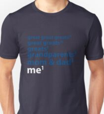 Me to the Power of 1 | Blue Unisex T-Shirt