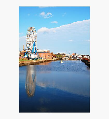 Ferris Wheel on the North River  Photographic Print