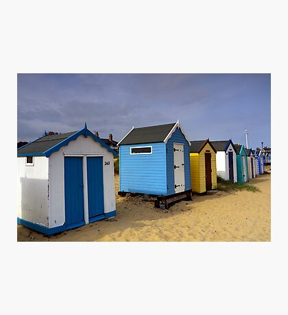 243 The Beach Southwold Photographic Print