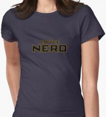 Coffee Nerd Womens Fitted T-Shirt