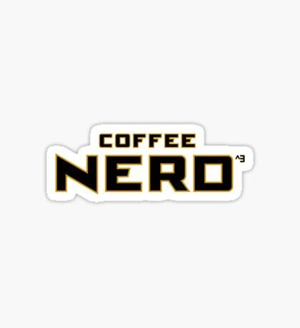 Coffee Nerd Sticker