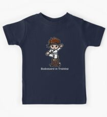 Martial Arts/Karate Boy - Crane one-legged stance - Bodyguard Kids Tee