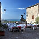 Outdoor dining with a view Torre di Palme Italy by Eros Fiacconi (Sooboy)