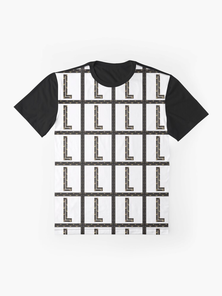 Alternate view of L - Art Deco Edition Graphic T-Shirt