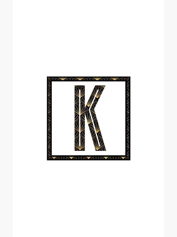 K - Art Deco Edition by KevinKlimaPhoto