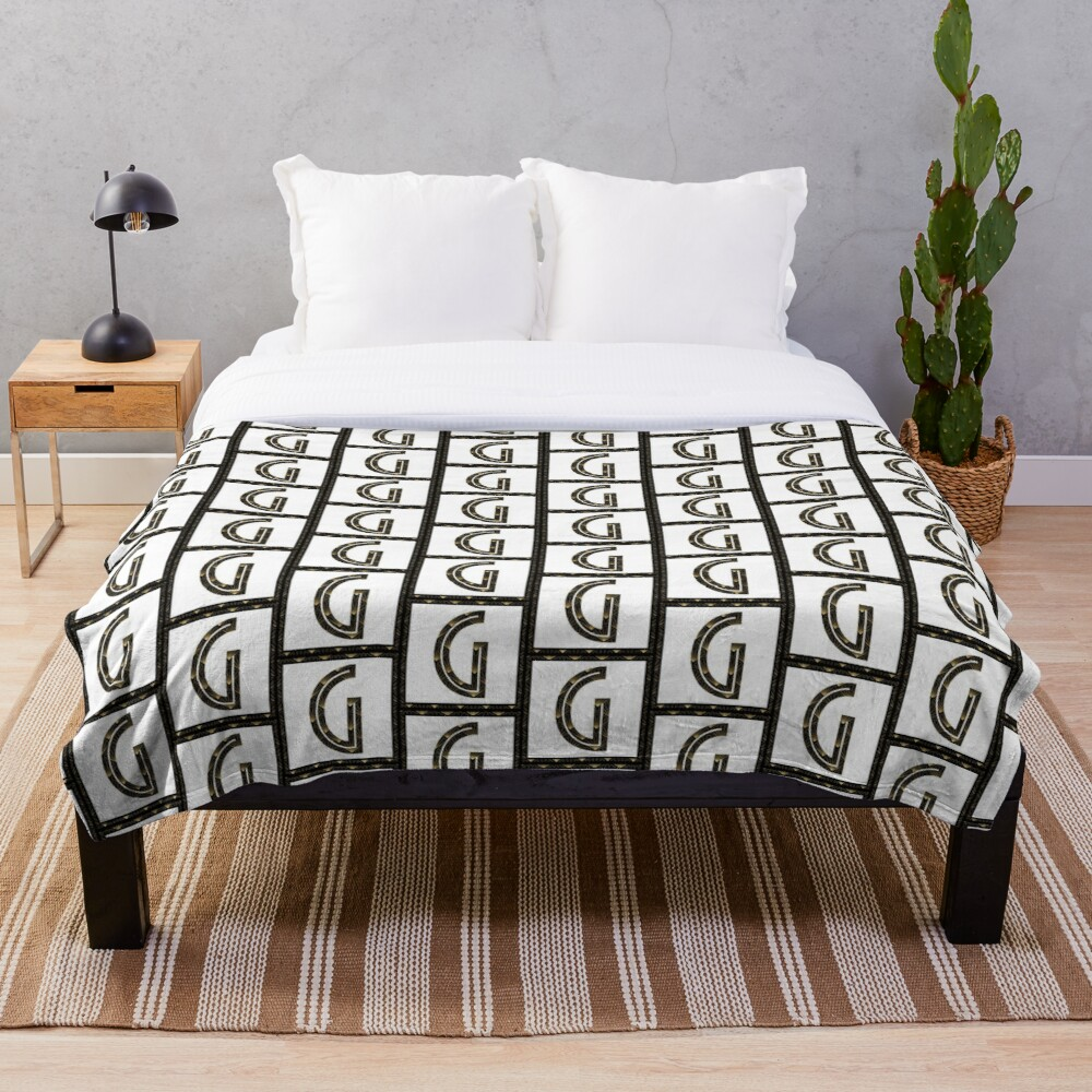 G - Art Deco Edition Throw Blanket
