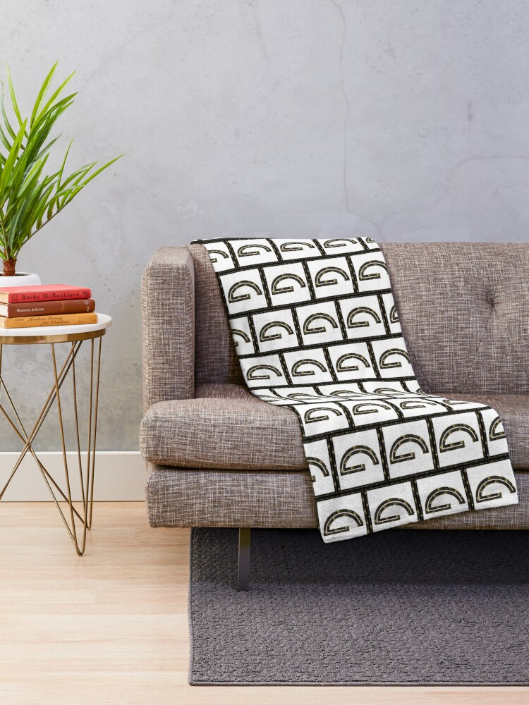 Alternate view of G - Art Deco Edition Throw Blanket