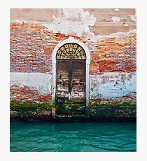 While in Venice Photographic Print
