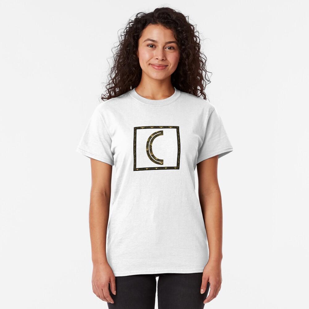 C - Art Deco Edition Classic T-Shirt