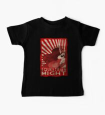Equestrian Might Baby Tee