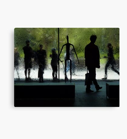 people are art... Canvas Print