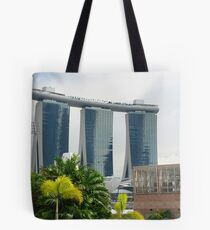 Marina Bay Sands Casino Tote Bag