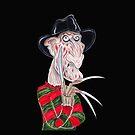 Horror Albtraum Karikatur Zeichnung von MMPhotographyUK