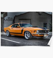 American Muscle Car Posters Redbubble