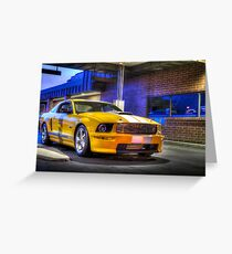 2008 Ford Shelby GT Greeting Card