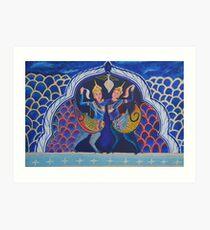 STRENGTH OF KHMER WOMEN by Pita Art Print