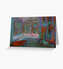 impressionism-roman holiday Greeting Card
