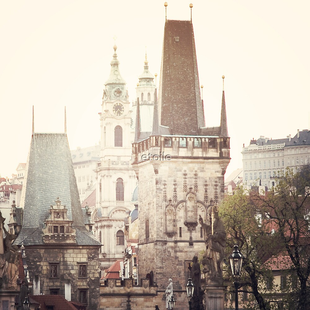charles bridge, prague by etoile