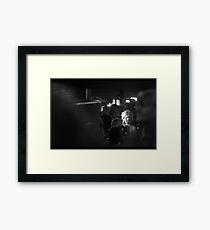 Dunst Framed Print