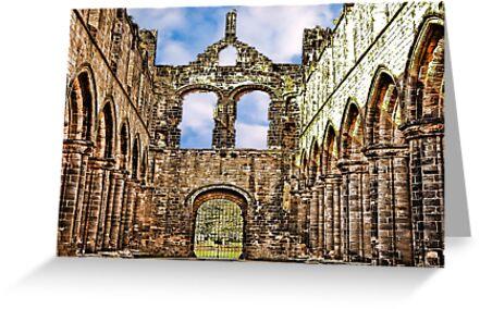Kirkstall Abbey Ruins by Trevor Kersley