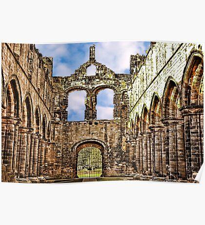 Kirkstall Abbey Ruins Poster