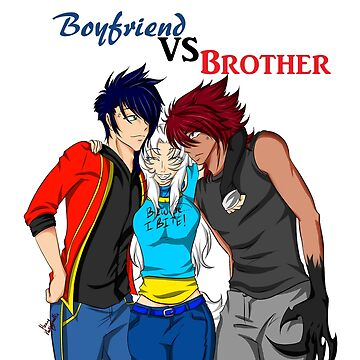 Boyfriend Vs Brother by CreativeClaws