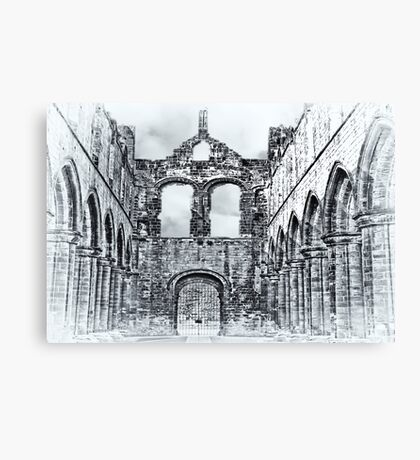 The Ruins of Kirkstall Abbey Canvas Print