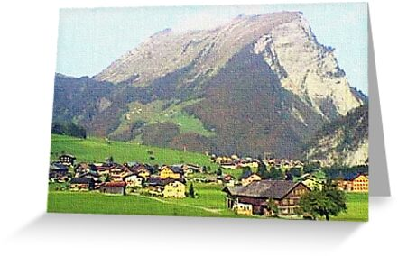 """Village - Reizlern, Austria"" by Michelle Lee Willsmore"