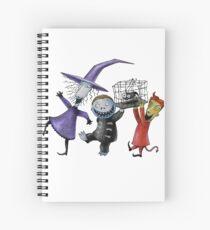 Lock, Shock, and Barrel Spiral Notebook