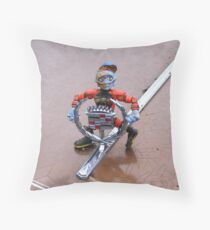 Two Hood Ornaments Throw Pillow