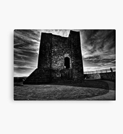 Clitheroe  Castle Canvas Print