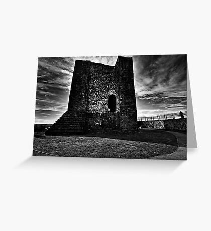 Clitheroe  Castle Greeting Card