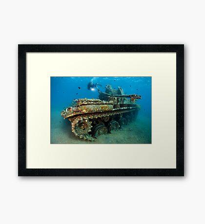 The Tank Framed Print