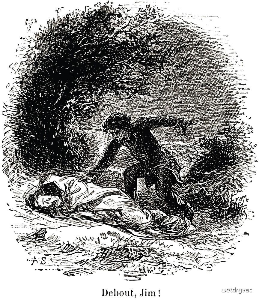 Achille Sirouy Mark Twain Les Aventures de Huck Huckleberry Finn illustration p081 by wetdryvac