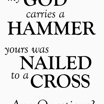 The Hammer and the Cross by Nwyvre