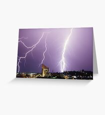 Extreme Power Greeting Card